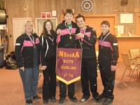 Huskies and Knights Earn 2012 NSSSAA Curling Banners