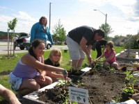 Elementary Schools in the Manitouwadge Memorial Community Garden