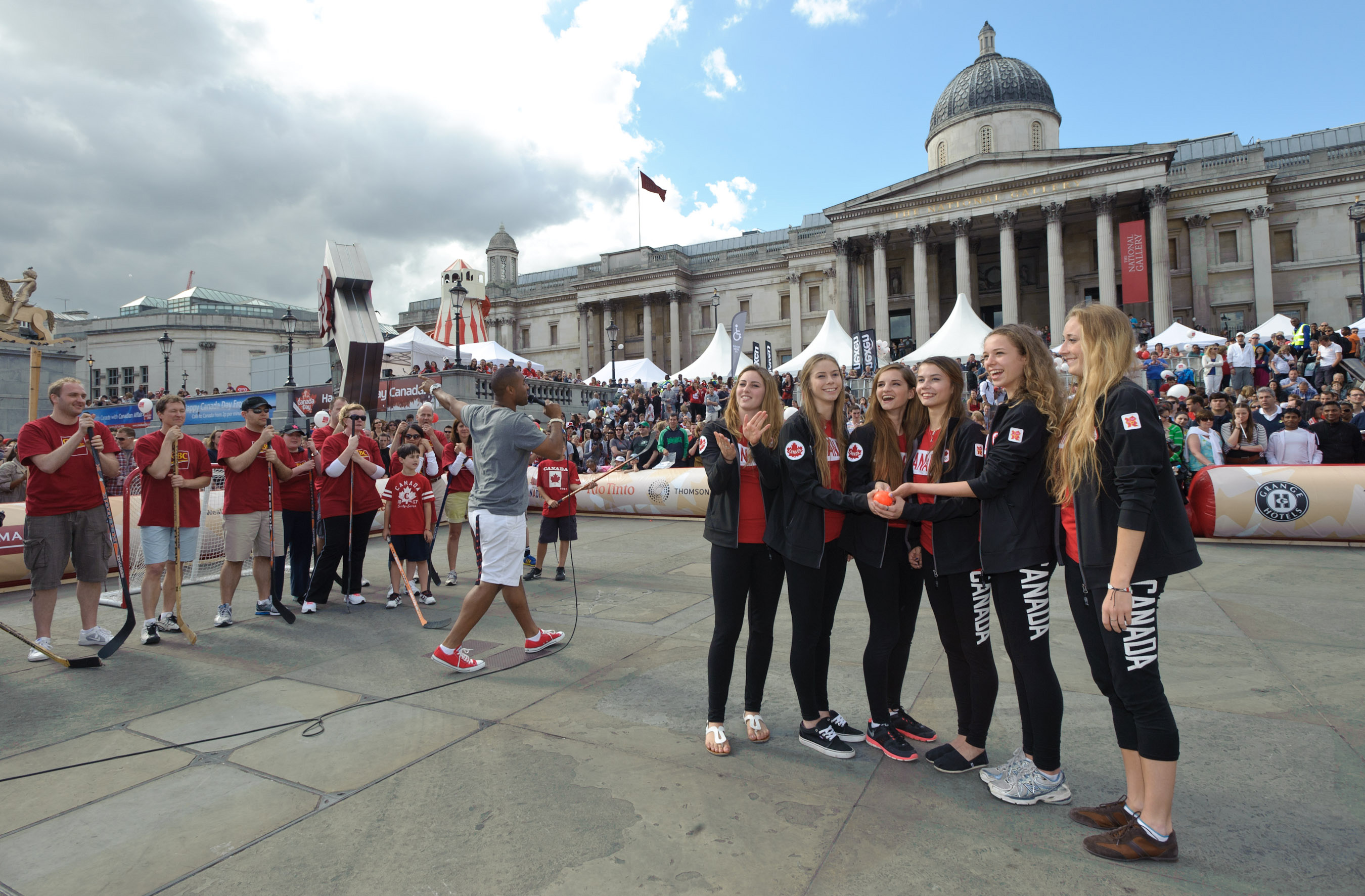 London (ON) Canada  city photos : CANADIAN OLYMPIC TEAM NOMINEES HELP CELEBRATE CANADA DAY IN TRAFALGAR ...