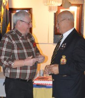 Annual Legion Supper Celebrates New and Long-time Members