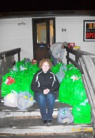 Marathon Trick or Eaters Collect Well Over $11 000 Worth of Food!