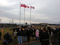 Remembrance Day in Terrace Bay