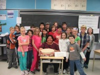 Pic River Elder Teaches About Ojibway Culture At Margaret Twomey Public School