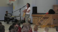 French Performer Juli Powers Visits Area Schools