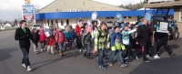 St. Martin Students Walking for Water
