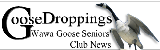 Wawa Goose Seniors' Club Spring Newsletter