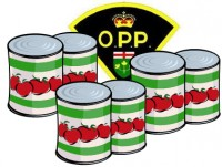 OPP Food Drive to Support Greenstone Harvest Centre