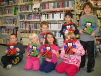 Christmas Crafting at Schreiber Public Library