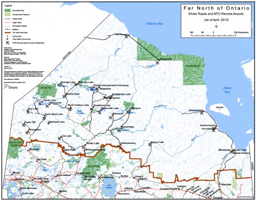 Winter Road Network Opens in Northern Ontario Ontario News North