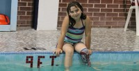 "War Amps Helps Local Champ ""Dive"" Into Her Favourite Activity"