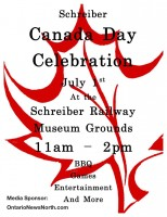 OntarioNewsNorth.com Proud To Support Schreiber Canada Day Celebrations