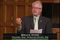 MP Bruce Hyer On Reform Act (Question Period Video)