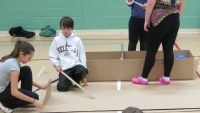 Regional Elementary Students Compete in SkillsOntario Carboard Boat Races (full results)
