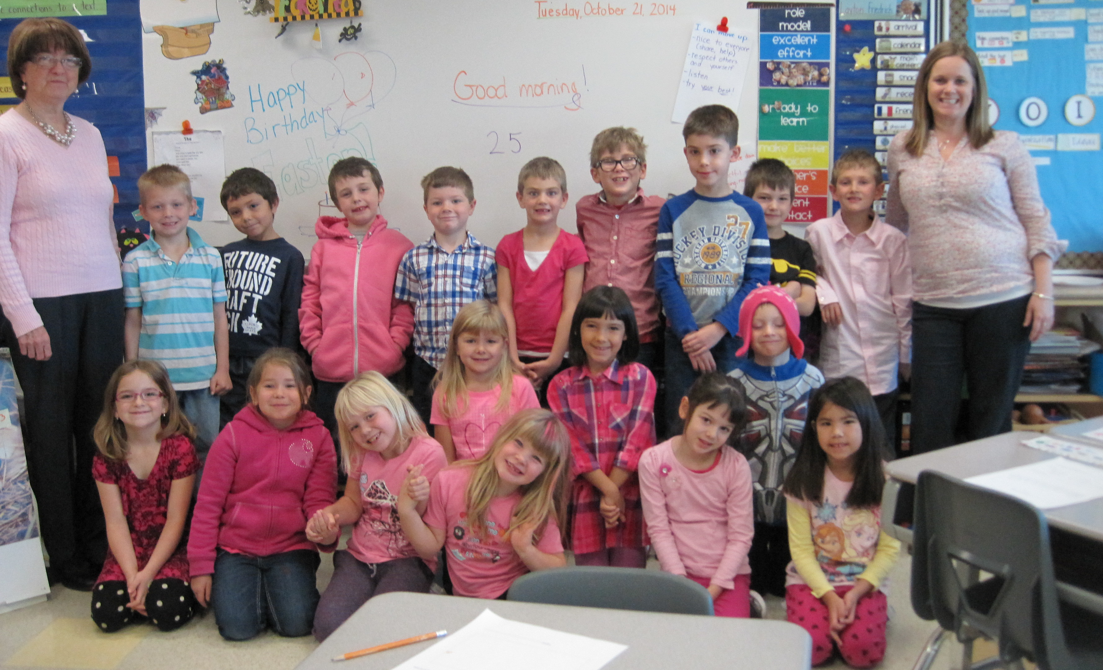 Pink Day at St. Martin School