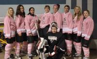 PinkPanthers Ladies' Hockey Face-Off in Local Tourney