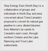 Residents Request Meeting with Rota on Energy East