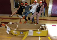 Wawa Students Among Those Headed to Provincial Cardboard Boat Race Competitions