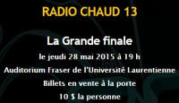 13th Annual Radio-Chaud Incl. Marathon, Dubreuilville and Longlac Competitors (among others)