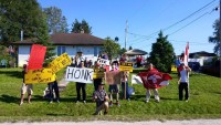 NWMO Event In White River Protested by Locals and Members of Pic Mobert First Nation