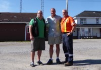 NDP Candidate Andrew Foulds Visits Greenstone