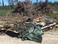 Dumping on Crown Land Illegal