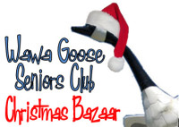 Wawa Goose Seniors' Club : Christmas Bazaar Just Days Away