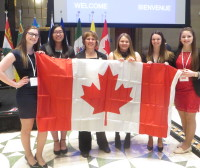 Northern Ontario High School Students in Forum for Young Canadians