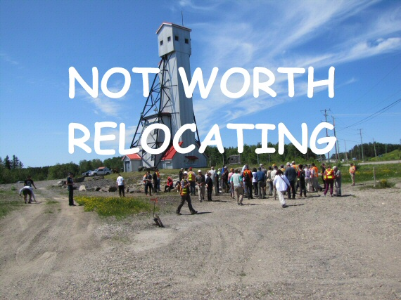 Historic Headframe to be Sold & Demolished