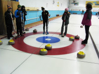 MPS and OLOL Students Participate in Annual Curling Bonspiel