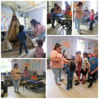 Holy Angels Students Participate in Smudging Ceremony