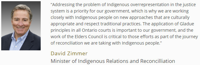 Ontario Working Towards Reconciliation with Indigenous Peoples