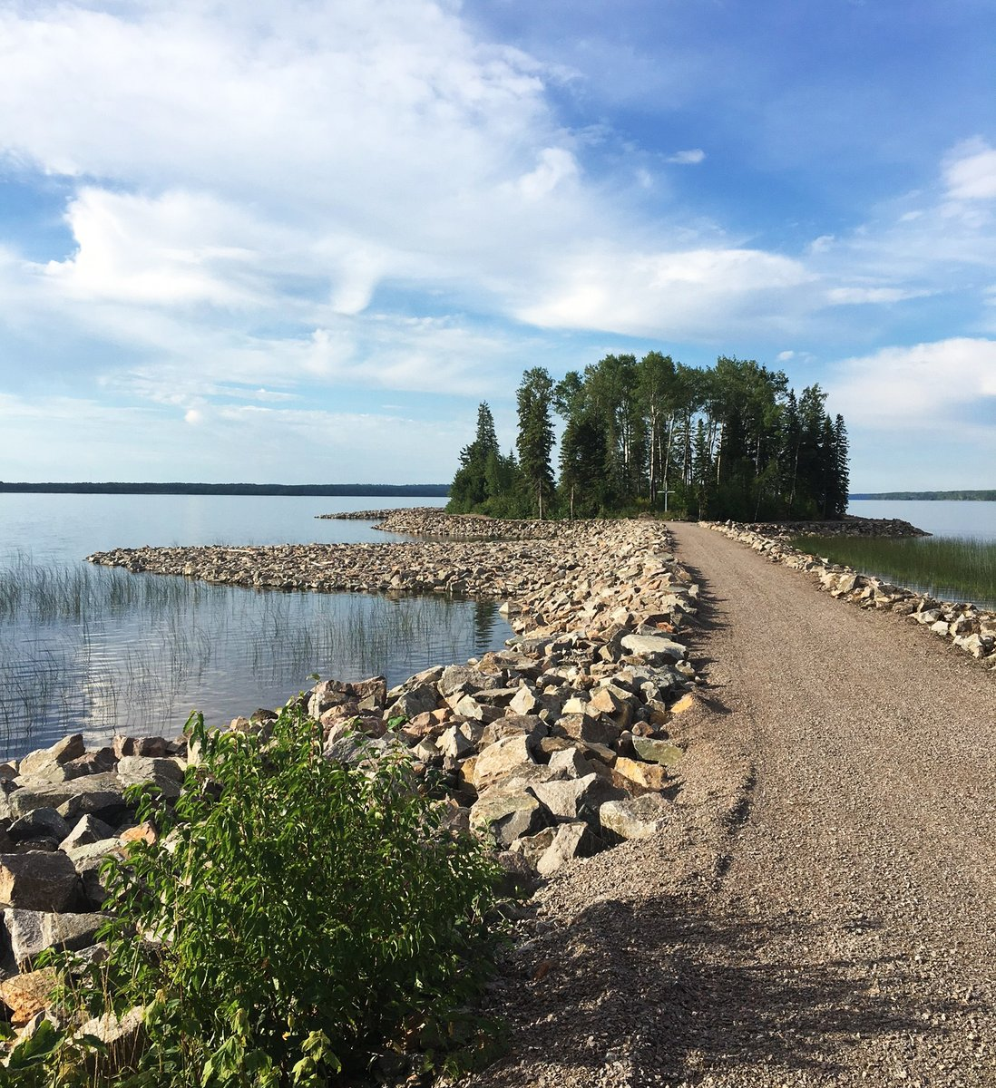 Restored Shoreline on Long Lake #58 First Nation