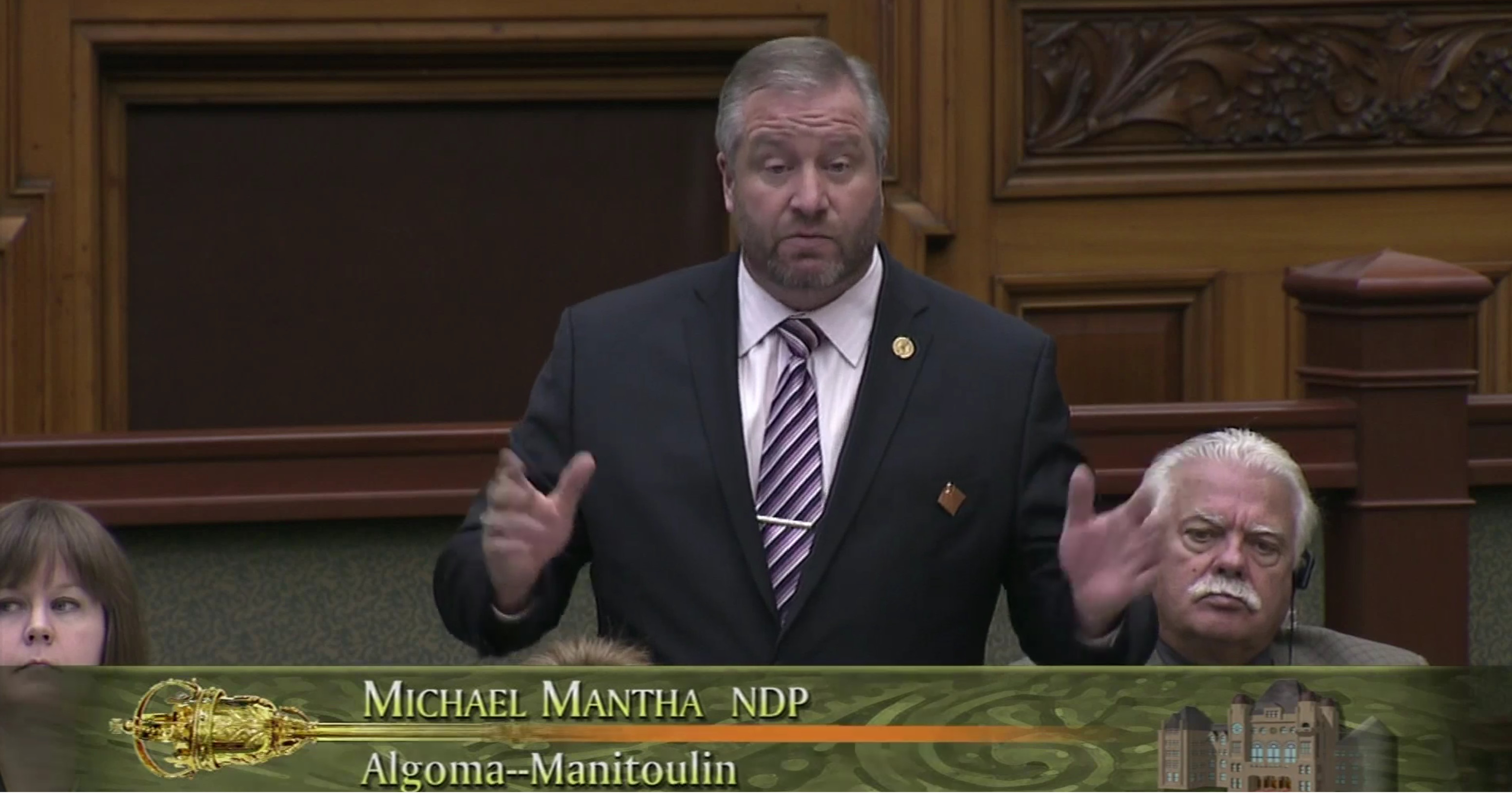 MPP Mantha calls on Premier Wynne to Ignite the #RingOfFire (Video)
