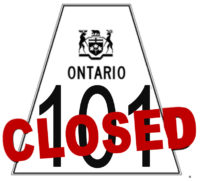 OPP Close Highway 101 Due to Multiple Motor Vehicle Collision