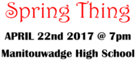 Spring Thing Food Bank Fundraiser