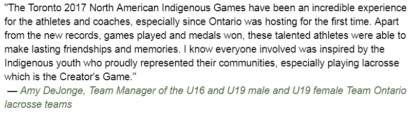 Ontario Athletes Shine at North American Indigenous Games (Video Opening Ceremonies)