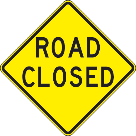 PUBLIC NOTICE: Road Closed for Repairs as of July 17