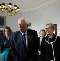 Premier's Statement on Visit of Senator Bernie Sanders