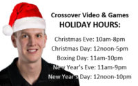 #CrossoverVideo: Holiday Hours, Gift Ideas, New Release Trailers AND More!